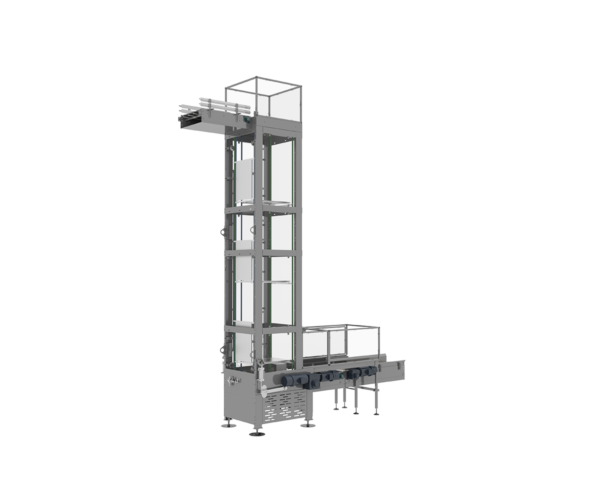 Vertical Case Conveyor