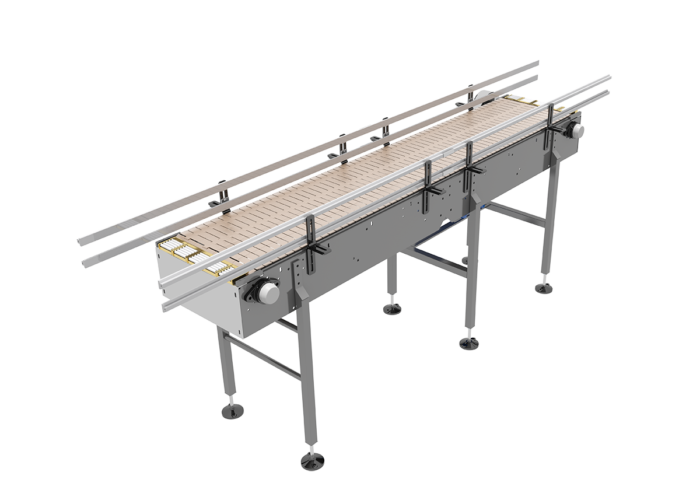 Open Top Bulk Container Handling Conveyor from Arrowhead Systems