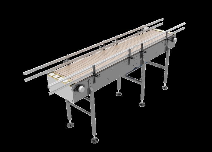 Open Top Bulk Container Handling Conveyor from Arrowhead Systems