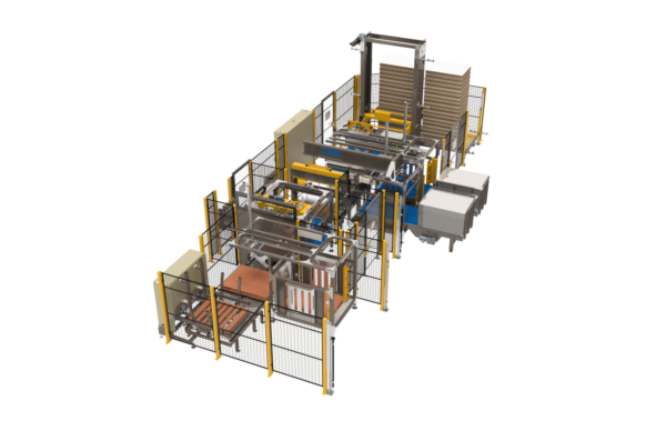 Low Level Bulk Palletizer / Depalletizer