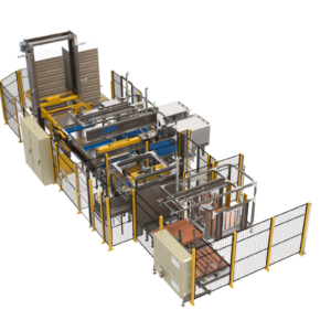Low Level Bulk Depalletizer Solutions from Arrowhead Systems