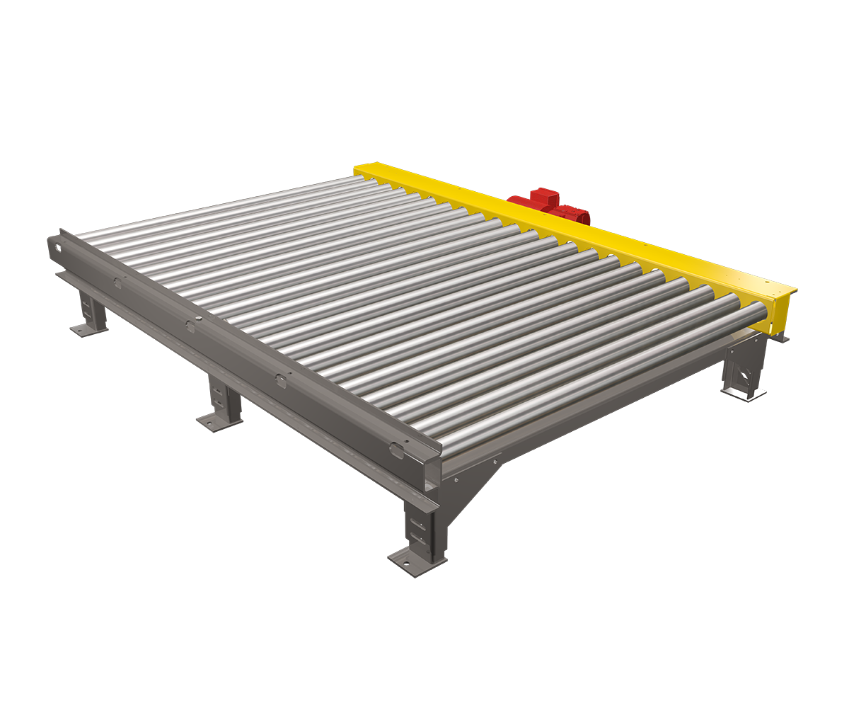 Chain Driven Live Roller Pallet Conveyor