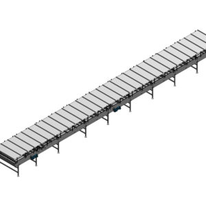 Arrowhead Systems' Can Conveyor Conveyor Accumulation Table