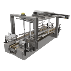 Angled View of Conveyor Clamp & Shift Laner