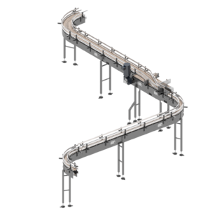 Arrowhead Systems Closed Top Container Handling Conveyor View 4