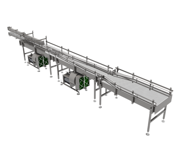 Converging Rail Single Filer