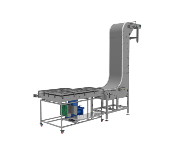 Cupper Discharge Conveyor