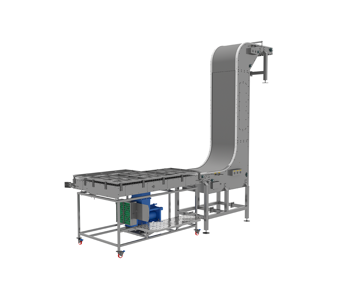 Cupper Discharge Conveyor from Arrowhead Systems