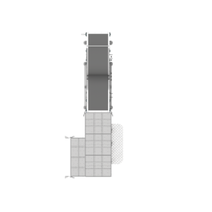 Top View of Cupper Discharge Conveyor