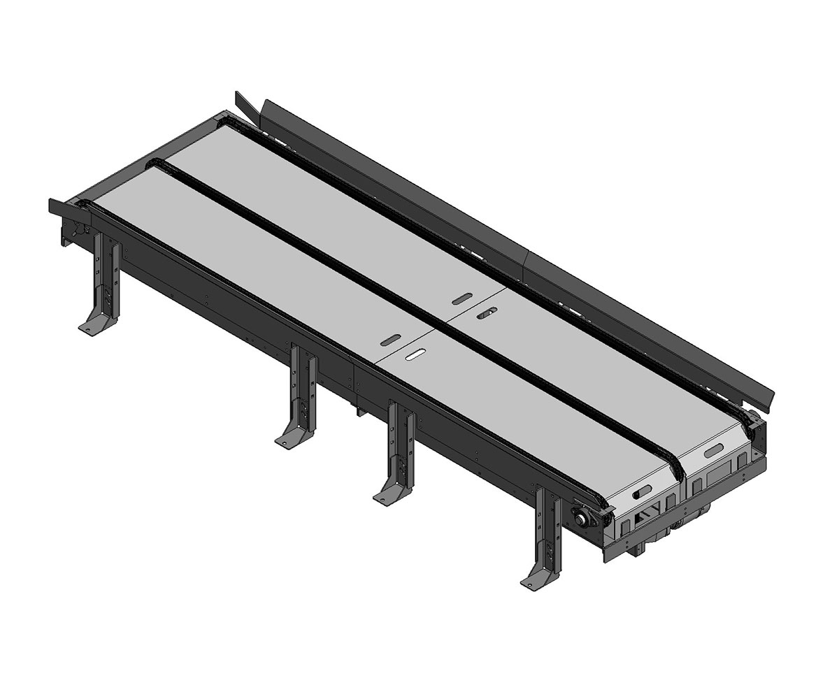 Drag Chain Pallet Conveyor from Arrowhead Systems