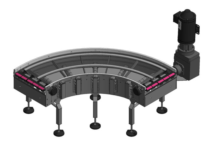 Intralox Curved Conveyor from Arrowhead Systems