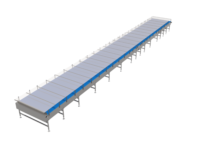 Arrowhead System's Intralox® Mass Mechanical Conveyor