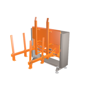Front View of PalMag Pallet Magazine