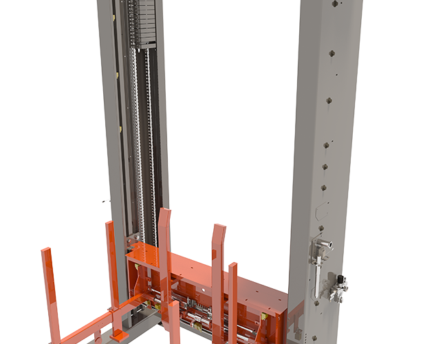 Arrowhead's Pallet Stacking / Destacking System View 1