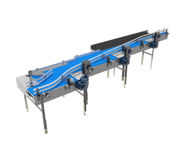 Pressureless Single File Conveyor