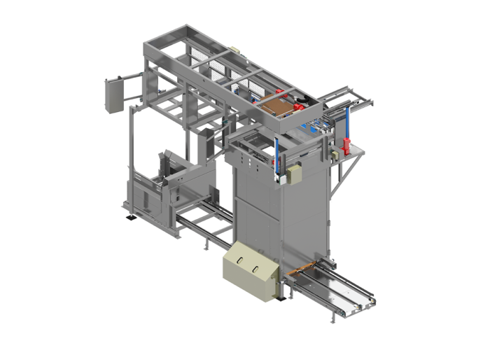 Bedless Classic R Series Bulk Palletizer from Arrowhead Systems