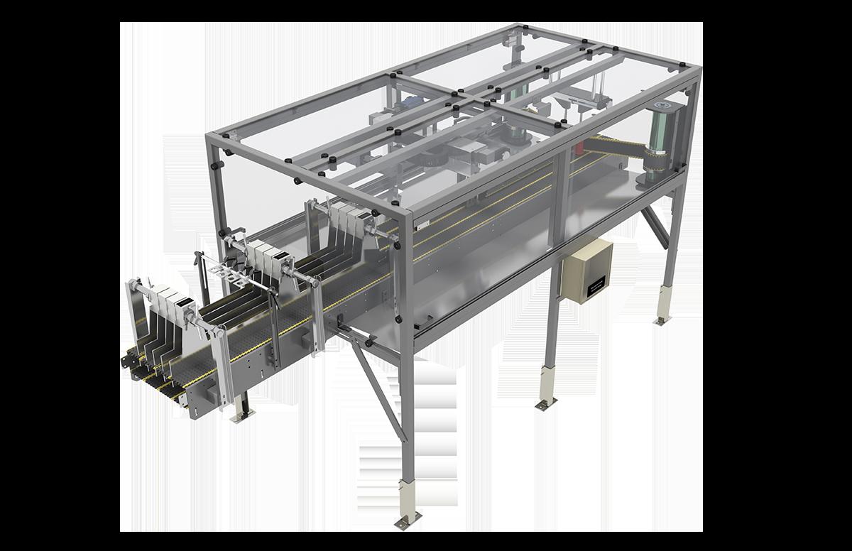 Arrowhead Systems Multi-Lane Conveyor View 4
