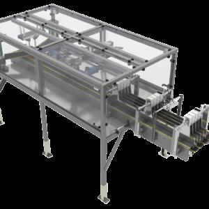 Arrowhead Systems Multi-Lane Conveyor View 1