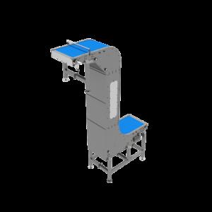 Back View of Vacuum Elevator Inverter Conveyor
