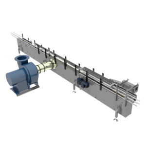 Arrowhead System's Vacuum Inspection Conveyor