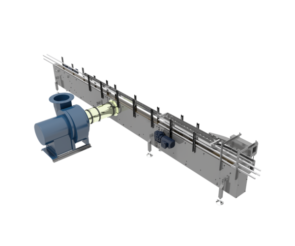 Vacuum Inspection Conveyor