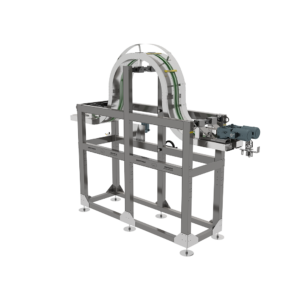 Vertical Humpback Conveyor Headspace Sterilizer