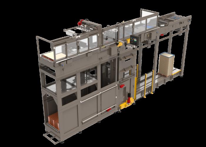 Arrowhead Systems High Level Bulk Palletizer Viper Flex View 4