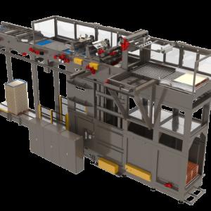 Arrowhead Systems High Level Bulk Palletizer Viper Flex View 1