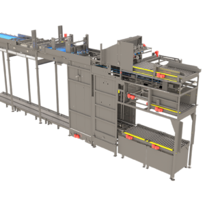 Arrowhead Systems High Level Bulk Palletizer View 1