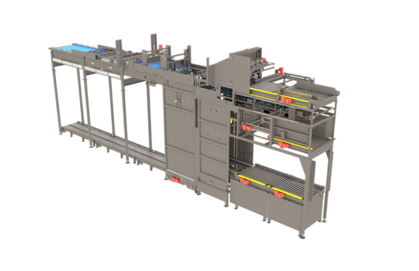 High Level Bulk Palletizer