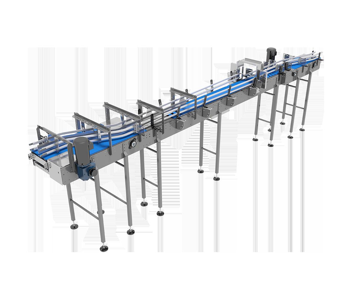 Arrowhead Systems' Laning Conveyor