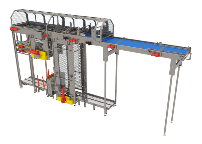 WorldFlex Bulk Palletizer from Arrowhead Systems