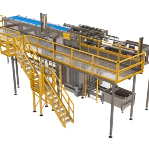 High Level Bulk Depalletizers from Arrowhead Systems