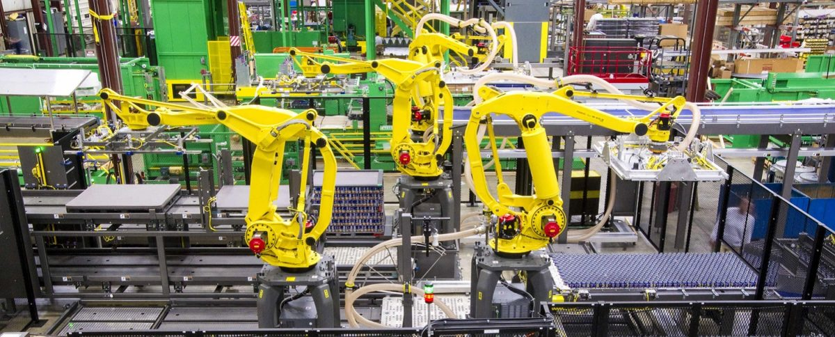 Robotic Palletizing Solutions from Arrowhead Systems