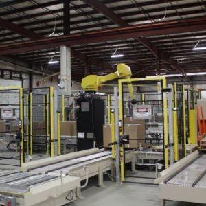 Robotic Case Palletizer video thumbnail