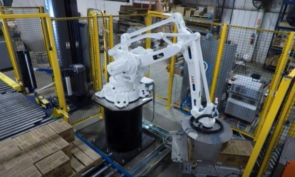 Robotic Case Palletizer