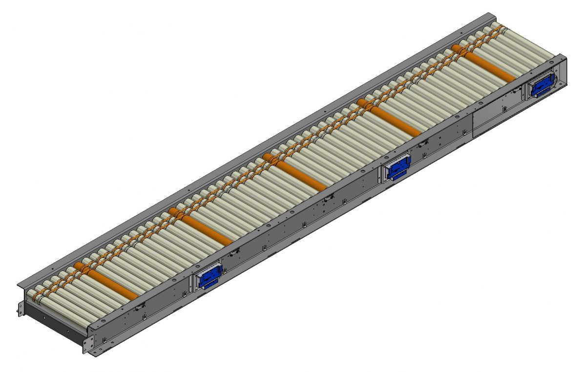 Motor Drive Case Conveyor Solutions from Arrowhead Systems
