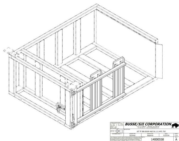 W Series – Bins (Add Door) kit