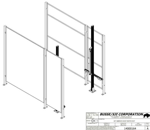 W Series – Hoist Muting Light Curtain