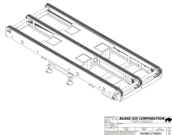 Turbo – Conveyor – Hydraulic Scissor Lift