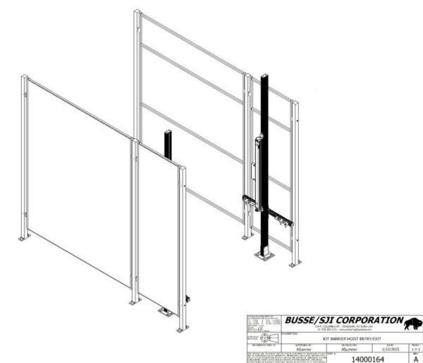 Turbo – Hoist – Muting Light Curtain Kit