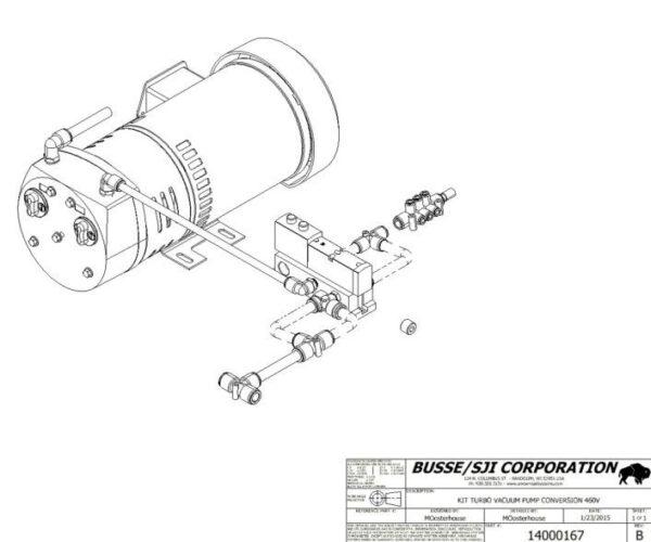 Turbo – Sweep Vacuum Pump Conversion
