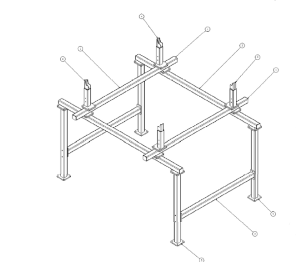 Pattern Rite Storage Rack